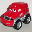 Tonka Maisto 2000 Lil' Chuck Red Cargo Truck with Red Hat Loose Used