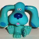Subway 1999 Blue's Clues Blue with Flipping Ears Figure Kids Meal Toy Loose Used