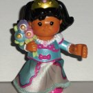 Fisher-Price Little People Mia Princess Poseable Figure Loose Used