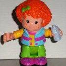 Fisher-Price Little People Elena with Baby Bottle Poseable Figure Loose Used