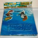 Surf's Up Felt Play Set Novelty Inc. 2007 Sony Pictures Unused