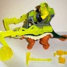 Fisher-Price #W3620 Imaginext Ankylosoraurus Dinosaur with Man Figure Mattel Loose Used