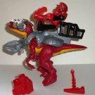 Fisher-Price W3619 Imaginext Raptor Dinosaur & Man Figure Mattel 2011 Dino Loose