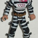 "Chap Mei Police vs Bad Guyz Prisoner 4"" Action Figure Loose Used"