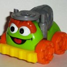 Fisher Price Sesame Street Giggle & Go Oscar the Grouch Cement Truck Only Loose Used