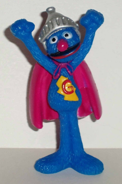 Fisher Price Sesame Street 40th Anniversary Super Grover