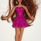 McDonald's 2011 Barbie A Fairy Secret Fairy Doll in Light Purple Dress No Wings Happy Meal Toy Loose
