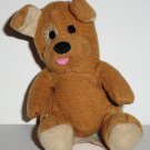 McDonald's 2009 Build-A-Bear Workshop Brown Sugar Puppy Happy Meal Toy w/o Outfit Loose Used
