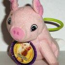 Wendy's 2006 Charlotte's Web Wilbur Plush Kids' Meal Toy Loose Used