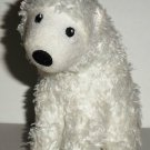 McDonald's 2009 Ty Teenie Beanie Babies Frostiness Polar Bear Happy Meal Toy No Swing Tag Loose Used