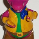 Barney the Dinosaur Cowboy Outfit Bendable Arms Figure Kid Dimension Loose Used
