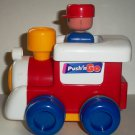 Tomy 1991 Push 'n Go Train Engine Loose Used