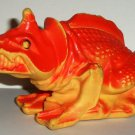 Fisher-Price Alpha Star Alien Creature Vinyl Figure 1983 Loose Used