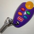 Playskool 1999 My First Remote Purple with Metal Keys Loose Used