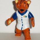 Toledo Zoo Pal Mascot KC Crew Colbie the Tiger PVC Figure Ohio Loose Used