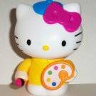 McDonald's 2013 Hello Kitty Loves Painting Happy Meal Toy Loose