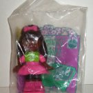 McDonald's 1993 Totally Toy Holiday Assortment Sally Secrets Black Happy Meal Toy in Package