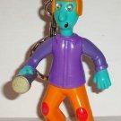 McDonald's 1999 Doug's 1st Movie Skeeter Valentine Keychain Happy Meal Toy Loose Used
