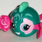 McDonald's 2011 Zoobles Seamus Green Pink Happy Meal Toy Loose Used