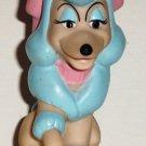 McDonald's 1988 Walt Disney Oliver & Company Georgette Dog Finger Puppet Happy Meal Toy Loose Used