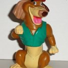 Wendy's 1989 All Dogs Go To Heaven Itchy PVC Figure Kids Meal Toy Loose Used