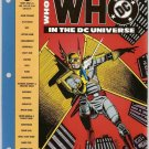 Who's Who in the DC Universe (1990 Loose-Leaf Edition) #6 No Original Bag DC Comics Jan.1991 FN