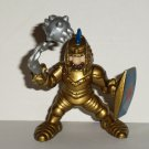 Fisher-Price Great Adventures Gold Knight Chain Mace & Lion Shield Figure 1994 Loose Used