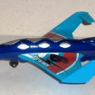 Matchbox Sky Busters 2011 Aero Blast Diecast Toy Airplane Skybusters Loose Used