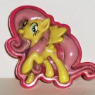 My Little Pony Stuck on Stories Suction Cup Ponies Fluttershy Loose Used