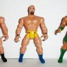 Lot of 3 Wrestlers and MMA Fighters Action Figures Loose Used