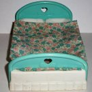 Fisher-Price Bed from #4600 Dream Doll House 1993 Dollhouse Loose Used
