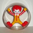 McDonald's 2010 Ronald McDonald in Hamster Wheel U3 Happy Meal Toy Loose Used