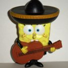 Burger King 2005 SpongeBob Squarepants Mariachi Spongebob Kids' Meal Toy Loose Used