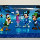 Disney Mickey Mouse and Friends Tri-fold Wallet Minnie Donald Duck Goofy Billfold Loose Used