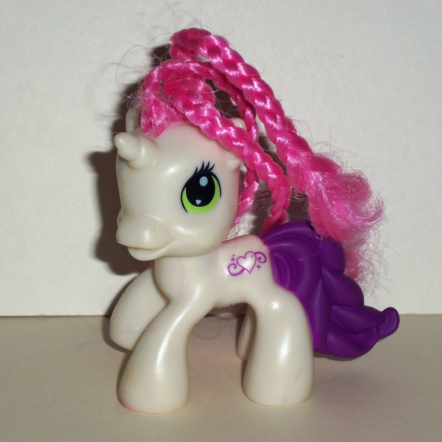 McDonald's 2009 My Little Pony Sweetie Belle Happy Meal Toy Hasbro Loose Used