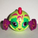 McDonald's 2011 Zoobles Seamus Light Green Purple Happy Meal Toy Loose Used