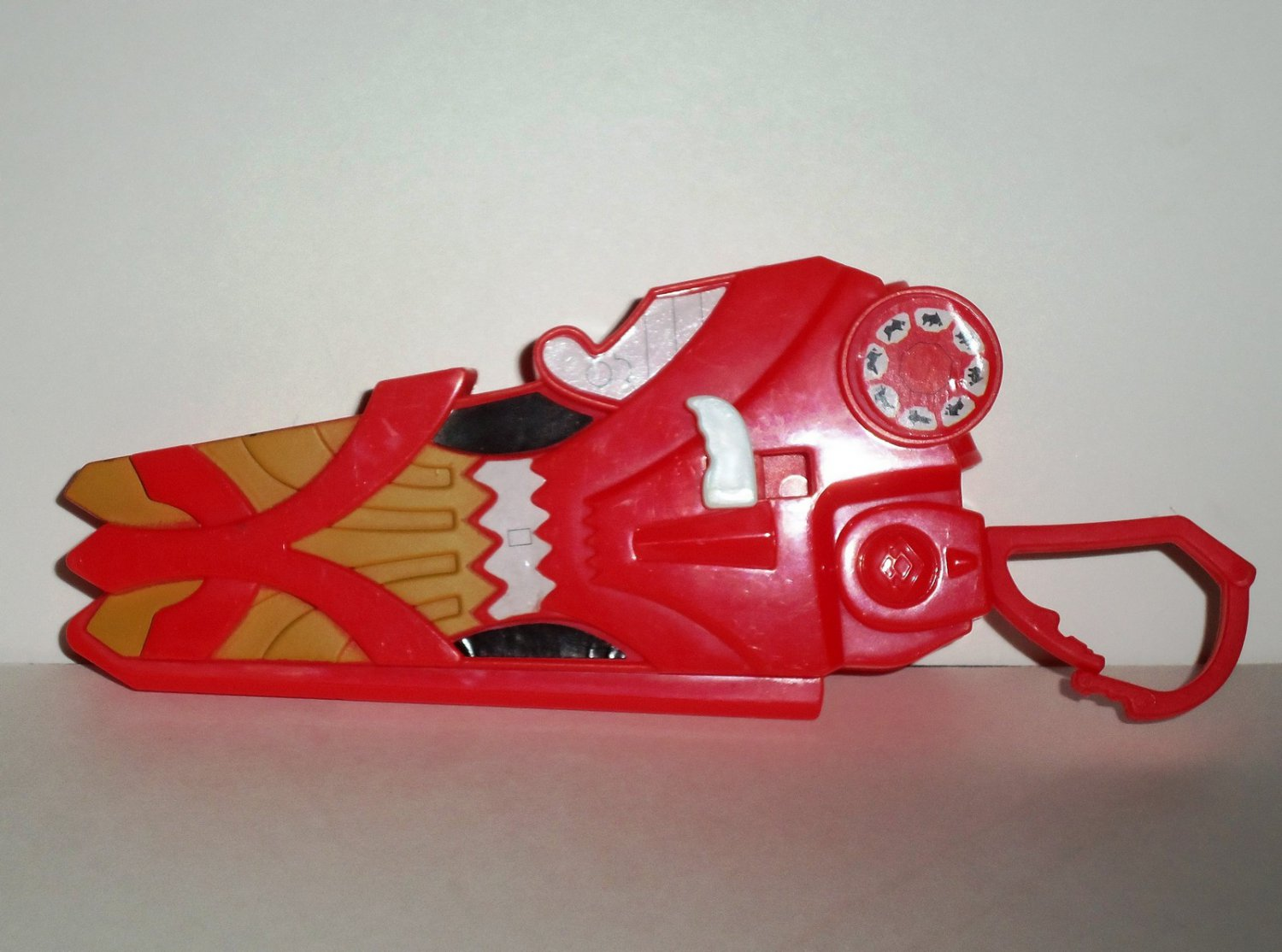 McDonald's 2011 Power Rangers Samurai Firesmasher Cannon No Discs Happy Meal Toy Loose Used
