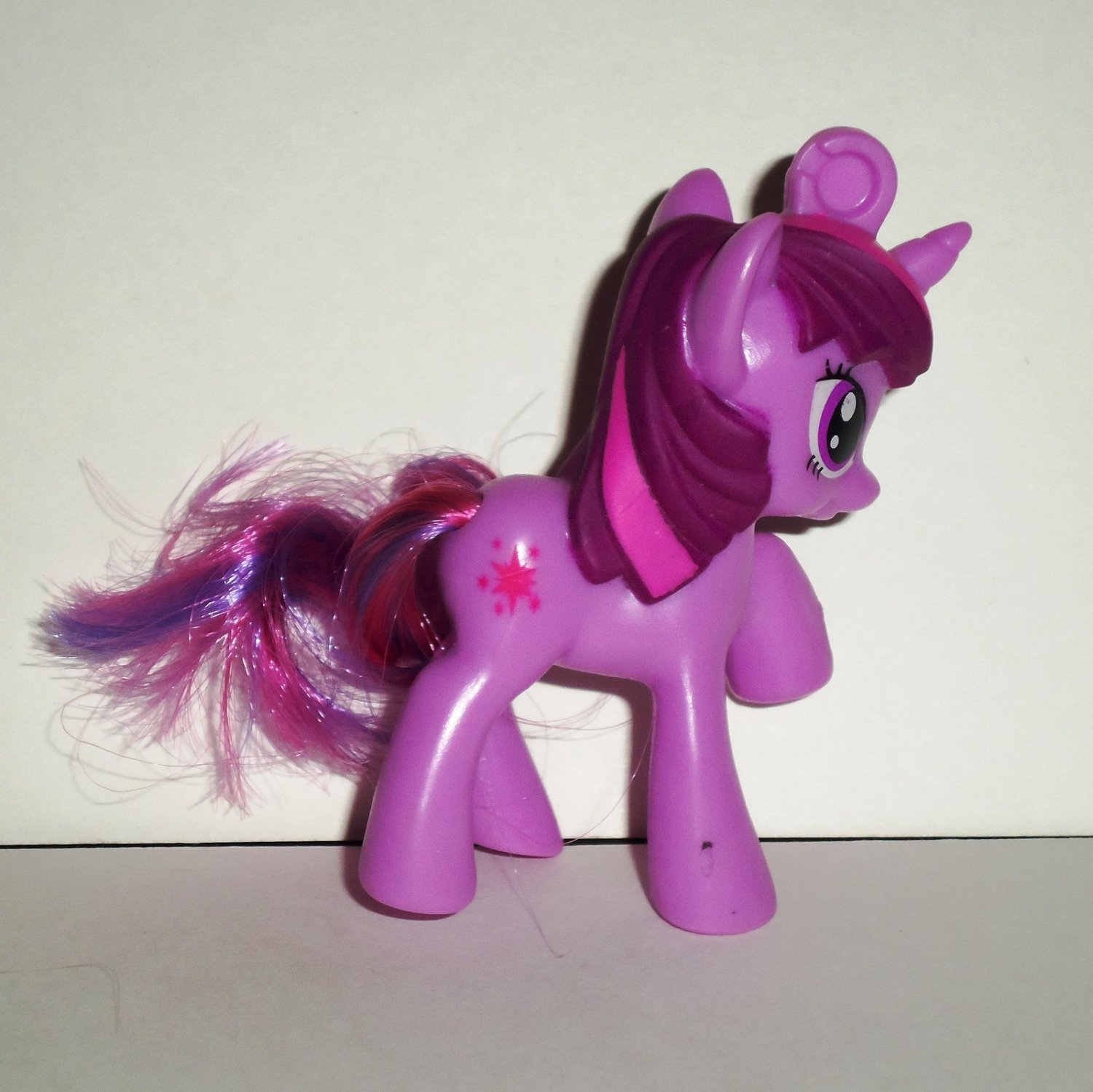 McDonald's 2012 My Little Pony Twilight Sparkle Happy Meal Toy Hasbro Loose Used