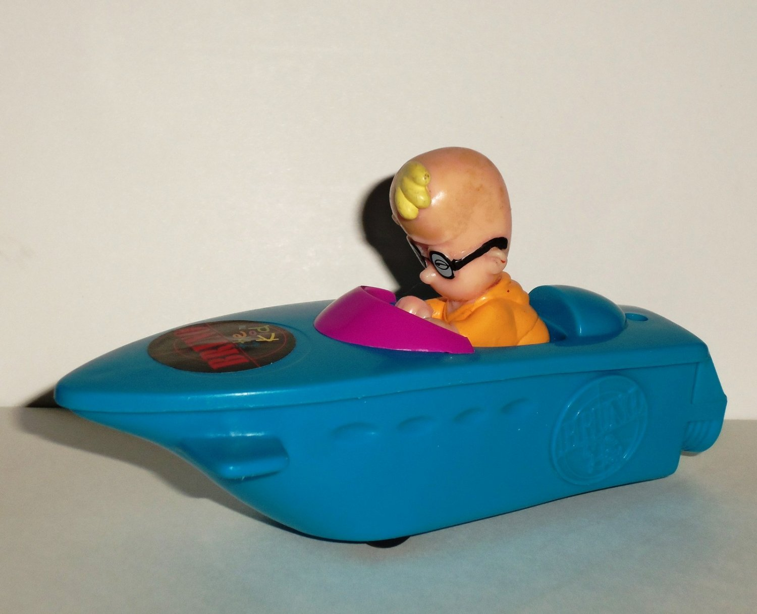 Wendy's 1997 Bruno the Kid Turbo Craft Kids Meal Toy Loose Used