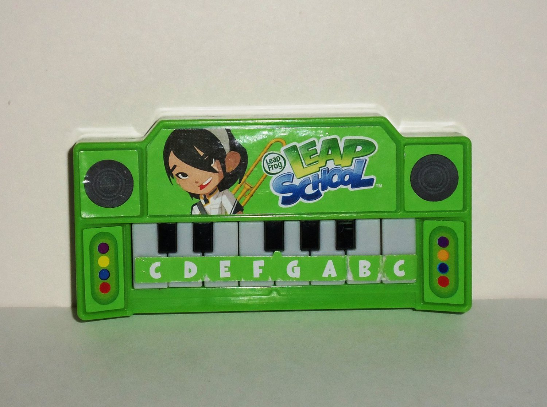 Wendy's 2012 Leapfrog Leapschool Keyboard Kids Meal Toy Loose Used