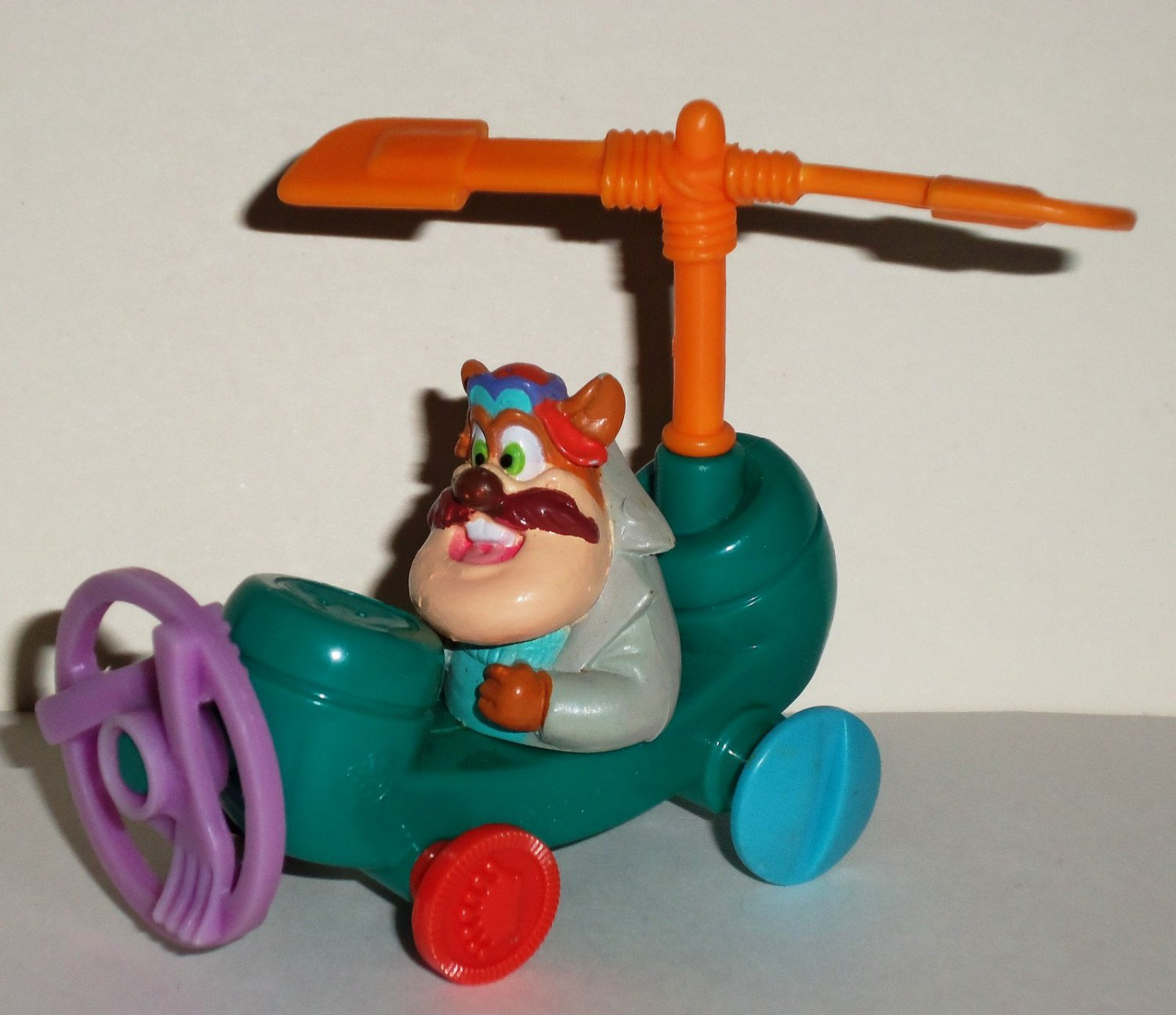 McDonald's 1989 Chip 'N Dale's Rescue Rangers Monterey Jack�s Propel-A-Phone Happy Meal Toy Loose