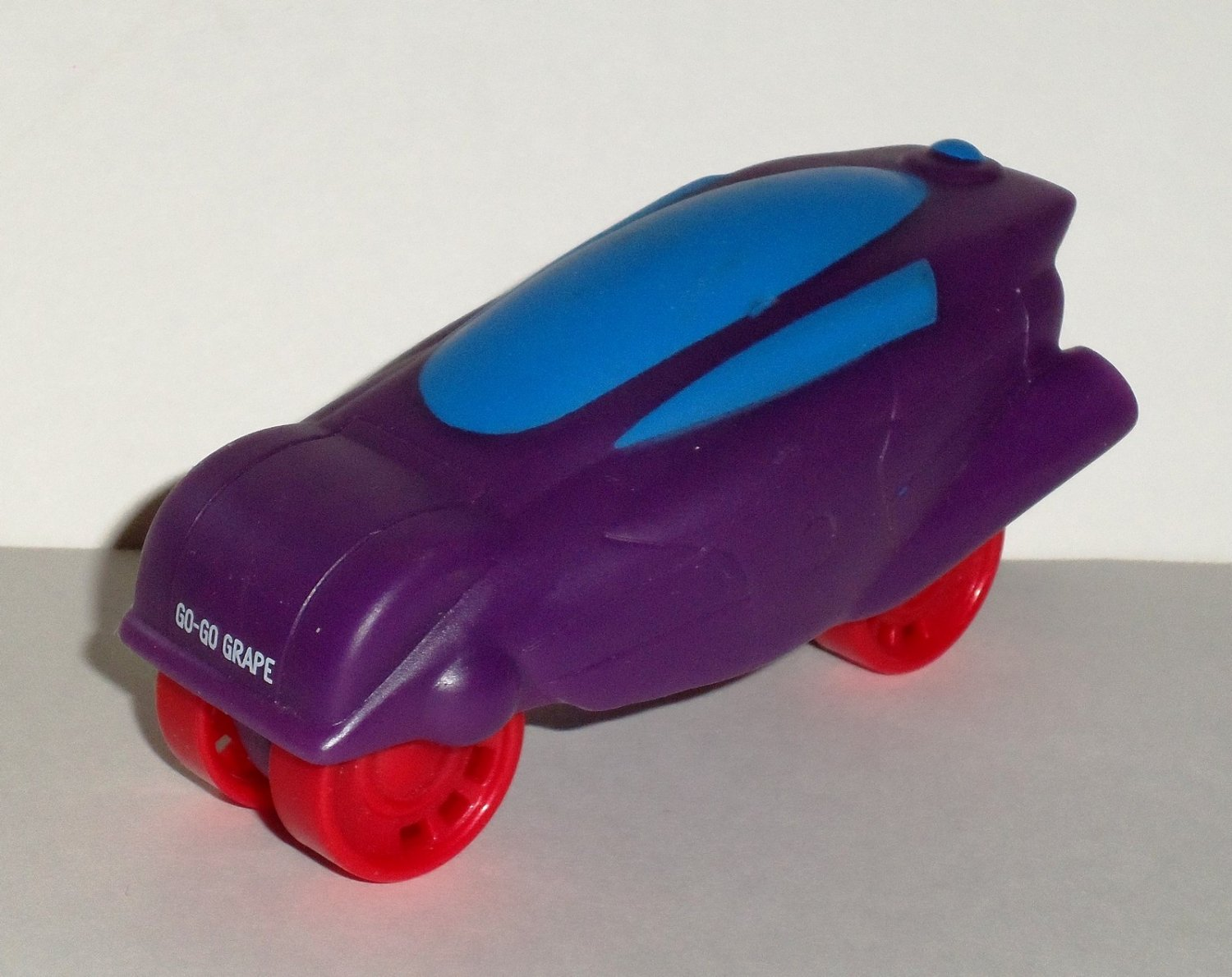 Sonic 2010 Tot Rod Tumblers Go-Go Grape Car Wacky Pack Kids Meal Toy Loose Used