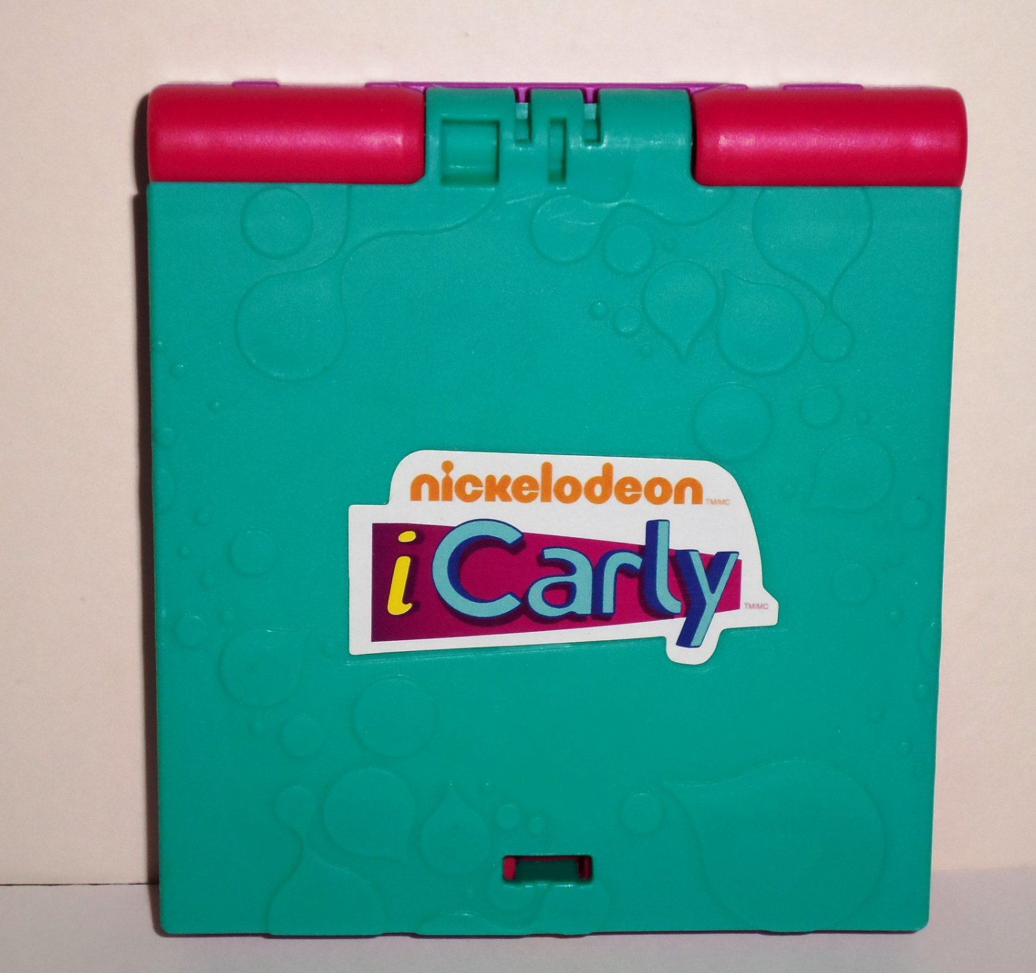 McDonald's 2010  iCarly Laptop Happy Meal Toy Loose Used