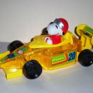 Peanuts Snoopy Candy Holder Toy Indy Race Car Galerie Loose Used