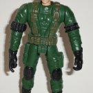Special Ops Soldier in Green Uniform and Hat Action Figure Loose Used