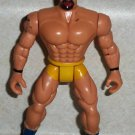Wrestler with Bald Head and Yellow Trunks Action Figure Loose Used