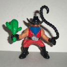 Fisher-Price Great Adventures Wild Western Town Cowboy Outlaw w/ Cactus Figure 1996 Loose Used