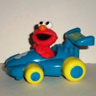 Tyco 1997 Sesame Street Elmo Plastic Racing Car #3 Loose Used