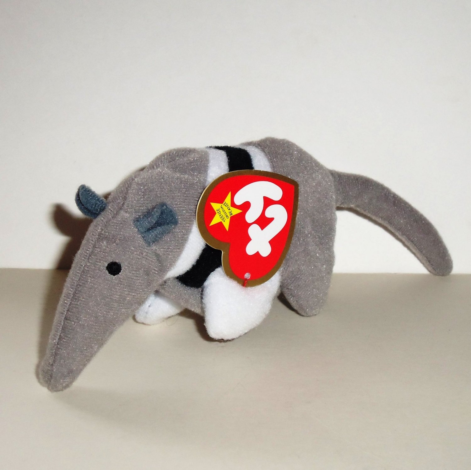 34776f7f8a4 McDonald s 1999 Ty Teenie Beanie Babies Antsy the Anteater Happy Meal Toy  w  Swing Tag Loose
