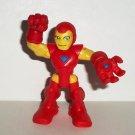 Marvel Super Hero Squad Iron Man Action Figure Hasbro 2010 Loose Used